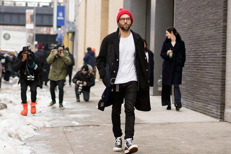 hombres con estilo NY