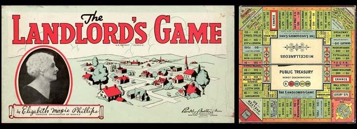 Juegos de mesa - The Landlords Game