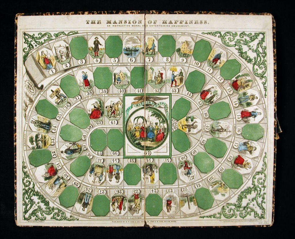 Juegos de mesa - The Mansion of Happiness