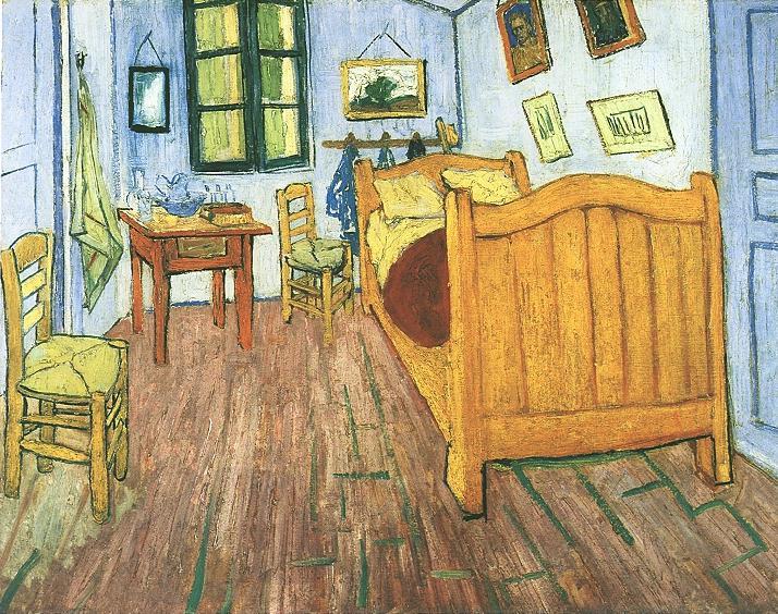 Las 5 versiones del cuarto de Van Gogh y