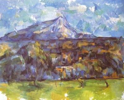 la montana santa victoria paul cezanne pinturas mas importantes