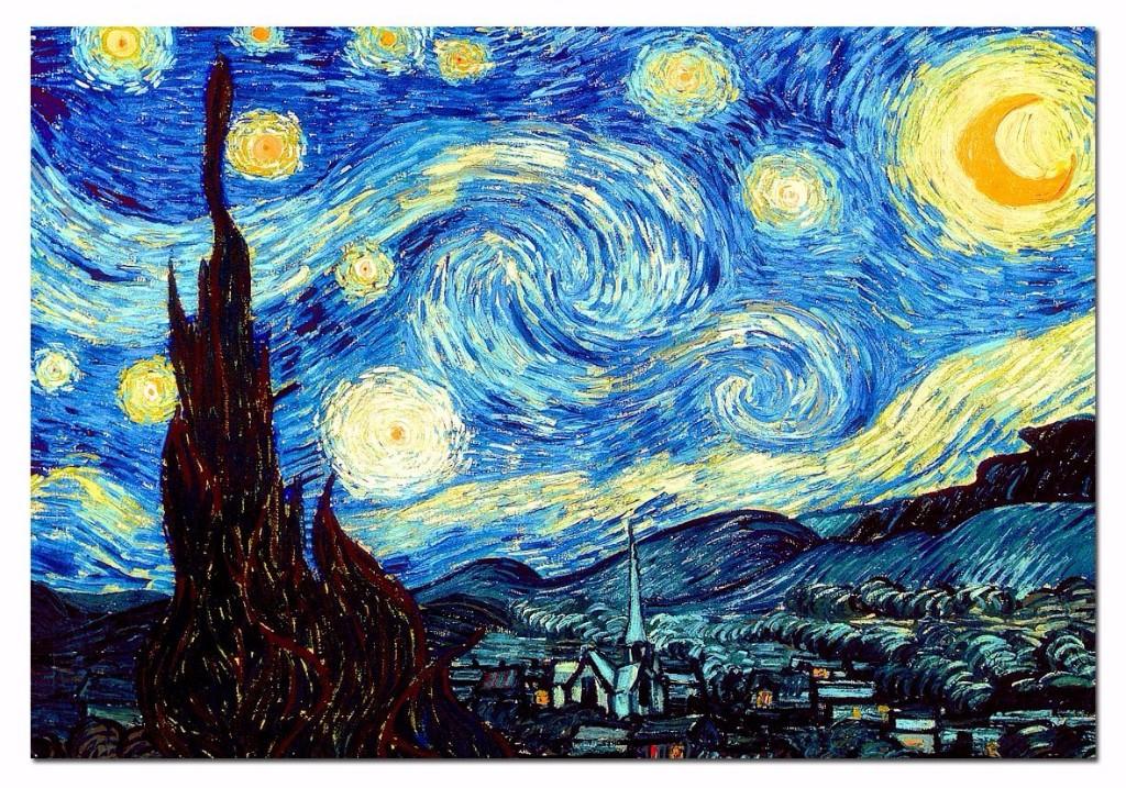 la noche estrellada pinturas mas importantes