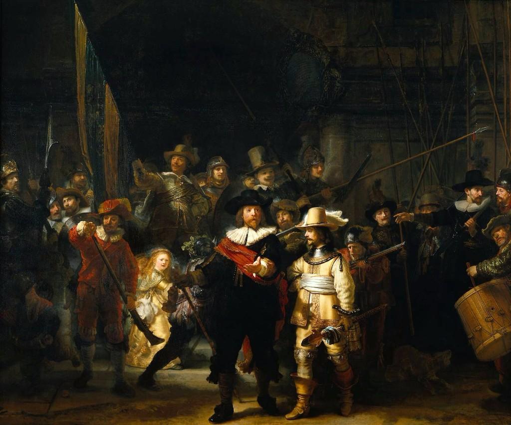 la ronda de noche pinturas mas importantes