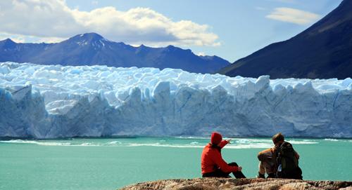 la rutina Perito Moreno