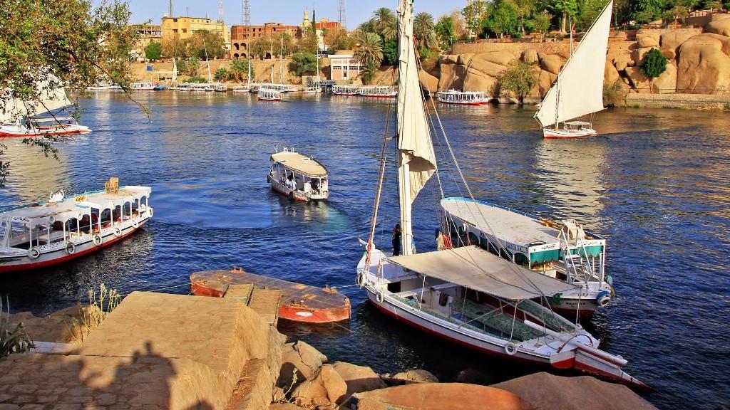 la rutina Egipto Nilo