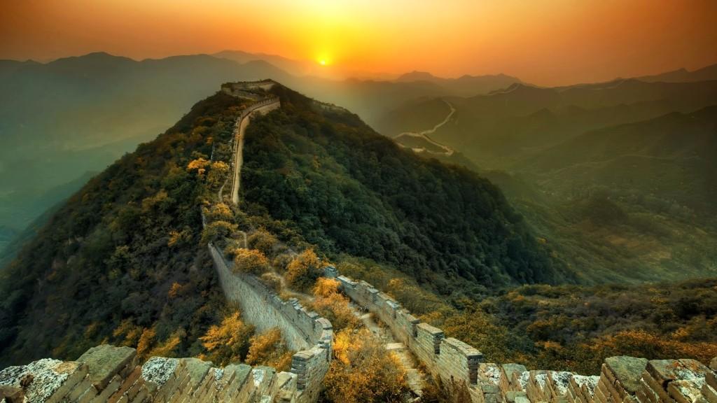 la rutina Gran Muralla inhospita