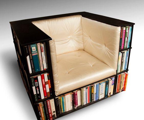 libros silla