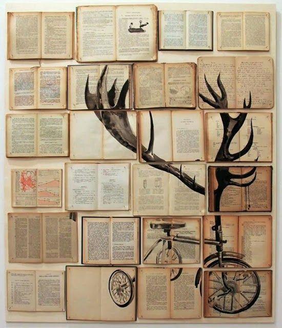 decorar con libros