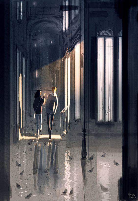 lluvia amor verdadero