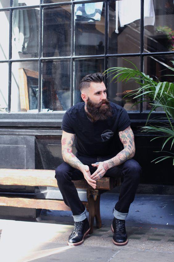 barba| hombres rebeldes