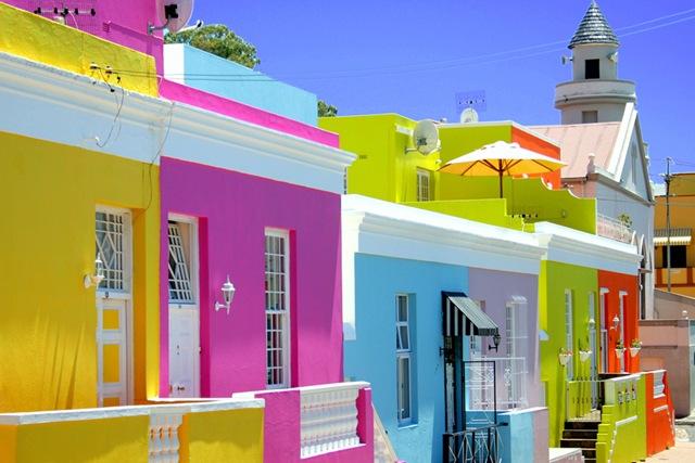 lugares coloridos bo kaap