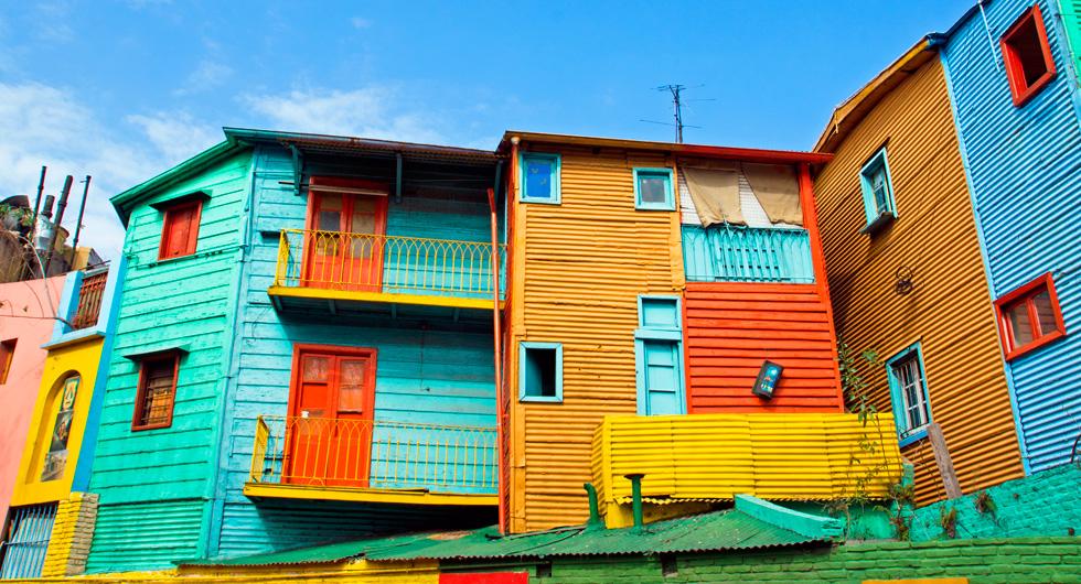 lugares coloridos caminito