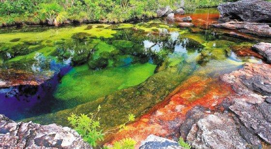 lugares coloridos cano cristales
