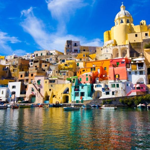 lugares coloridos procida