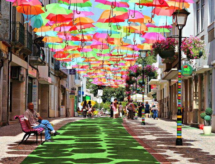 lugares coloridos umbrella