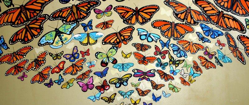mariposas lourdes villagomez