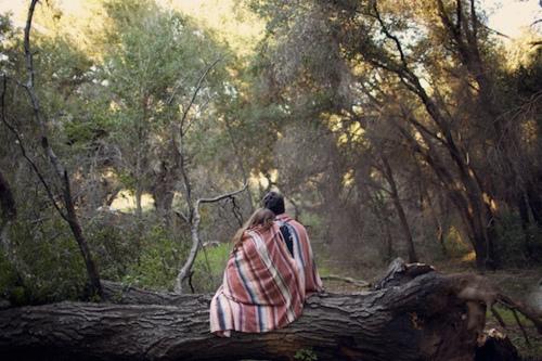 mujer de tu vida bosque