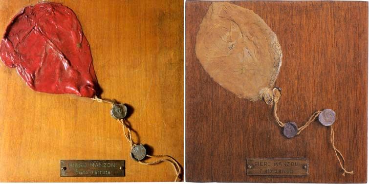Obras de arte reconocidas - Manzoni