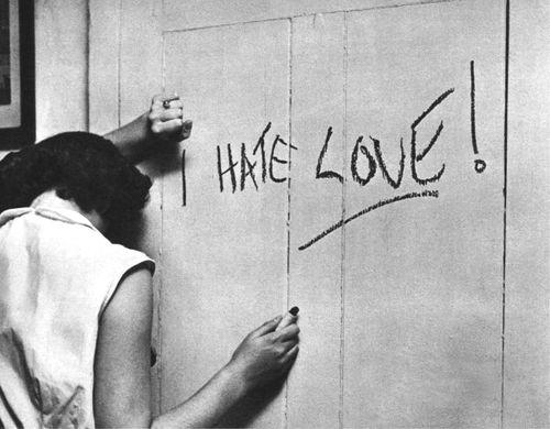 odio el amor roto el corazon