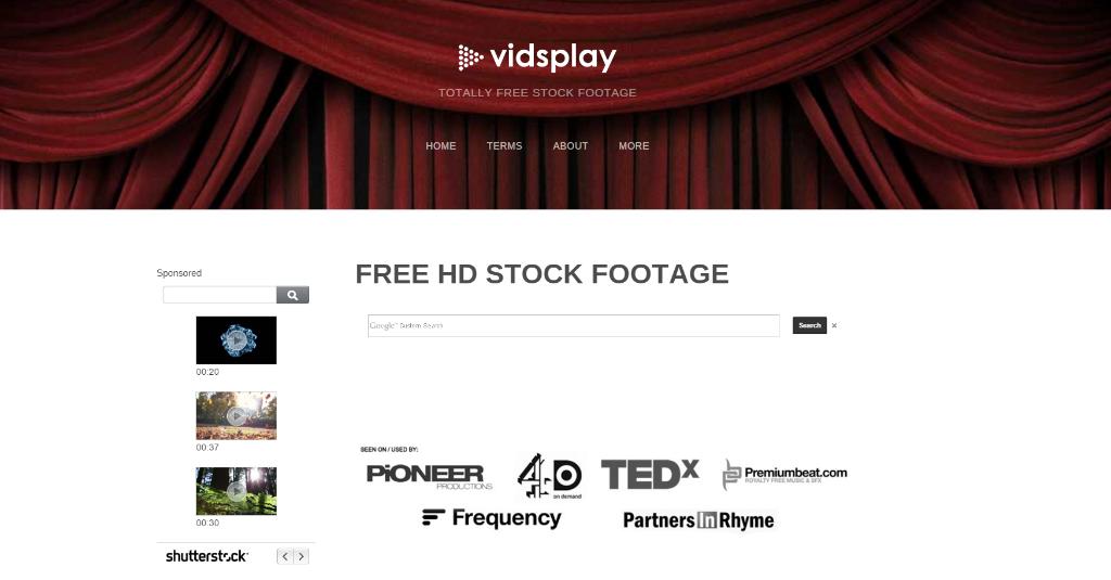 paginas vidsplay