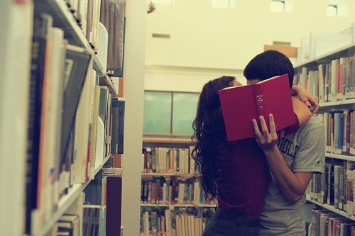pareja libros
