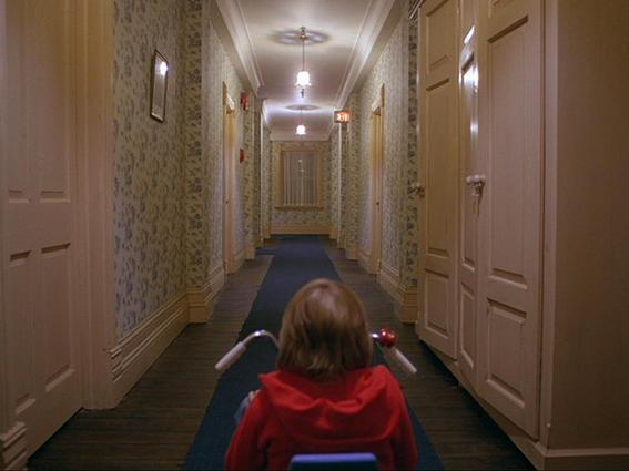 peliculas de stanley kubrck resplandor corredor