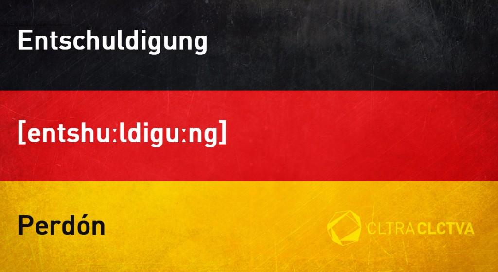 aprender aleman perdon