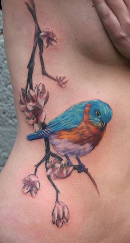personas cursis bird tattoo