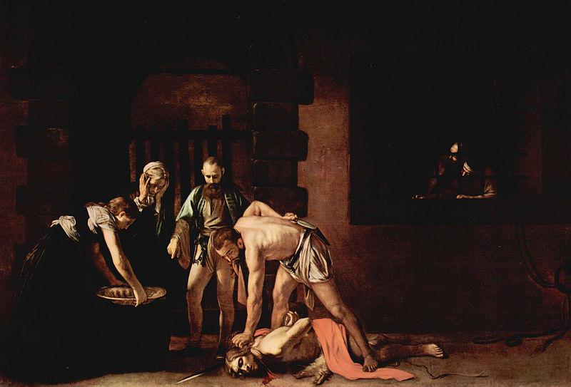 Pinturas de la muerte - Caravaggio