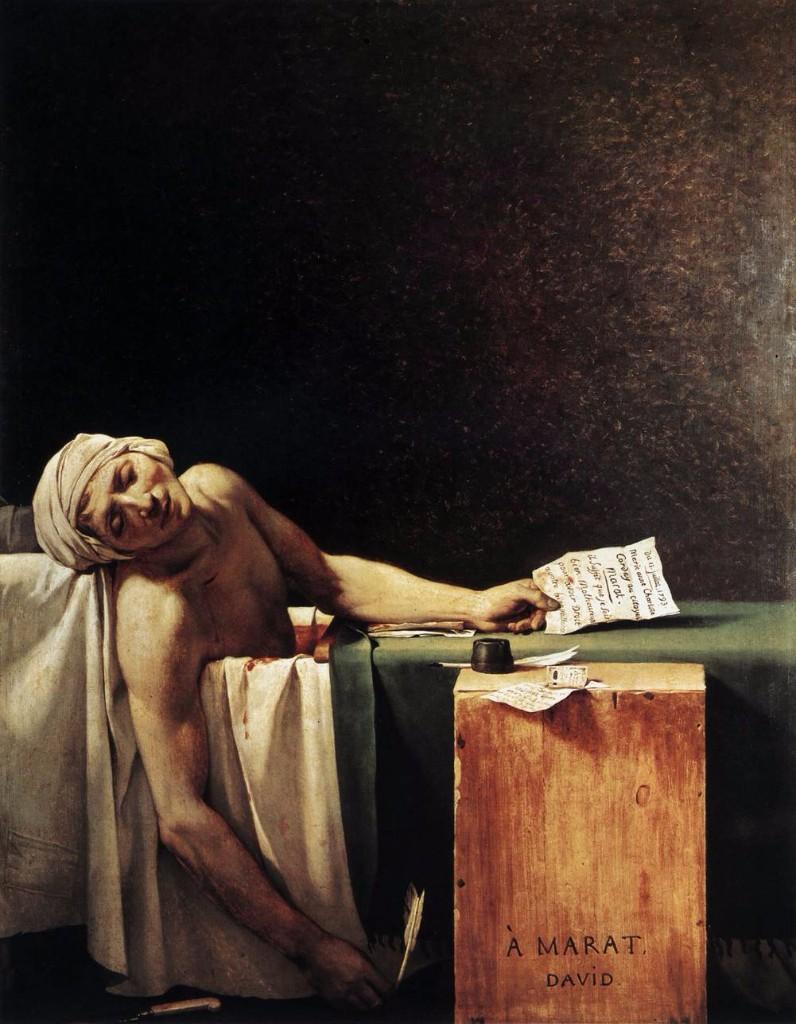 Pinturas de la muerte - Louis David
