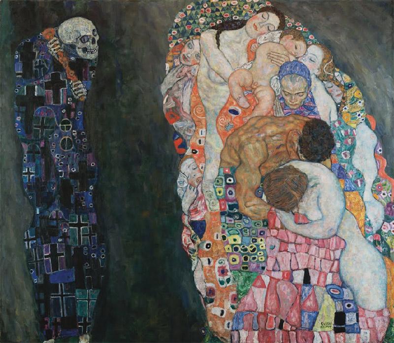 Pinturas de la muerte - Klimt