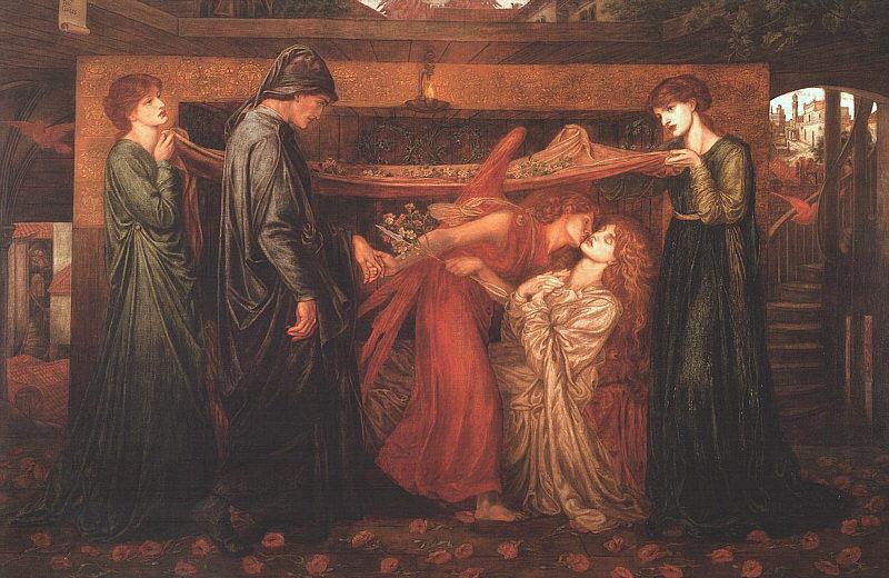 Pinturas de la muerte - Rossetti