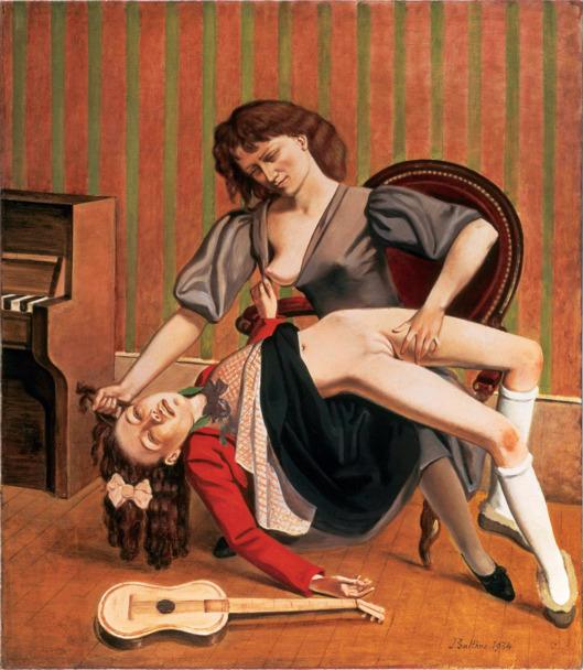 pinturas polémicas balthus