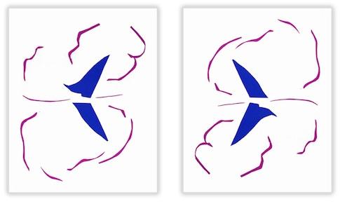 Le Bateau by Henri Matisse