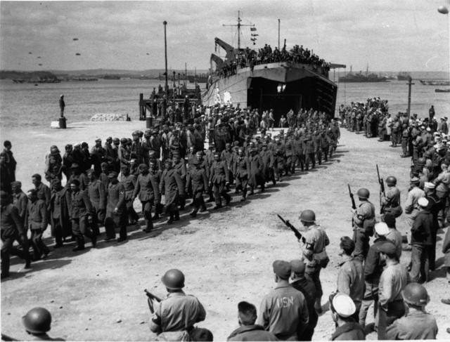 prisioneros nazis barco