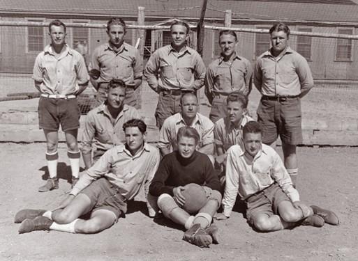 prisioneros nazis futbol