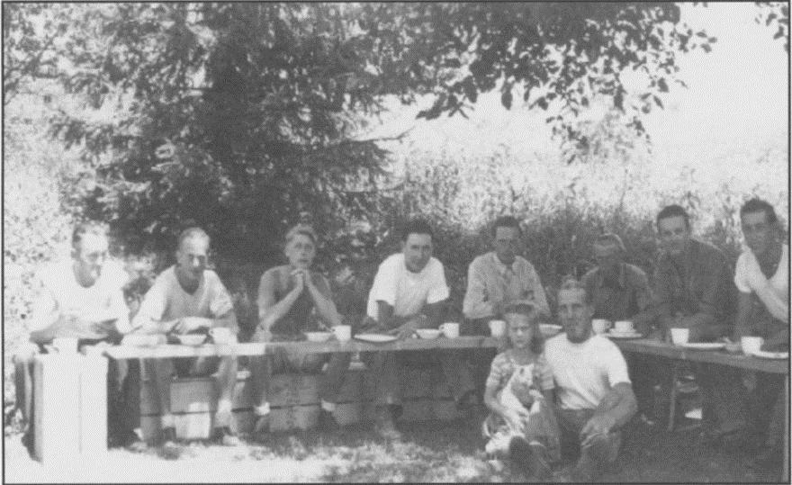 prisioneros nazis granja