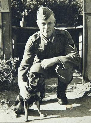 prisioneros nazis soldado