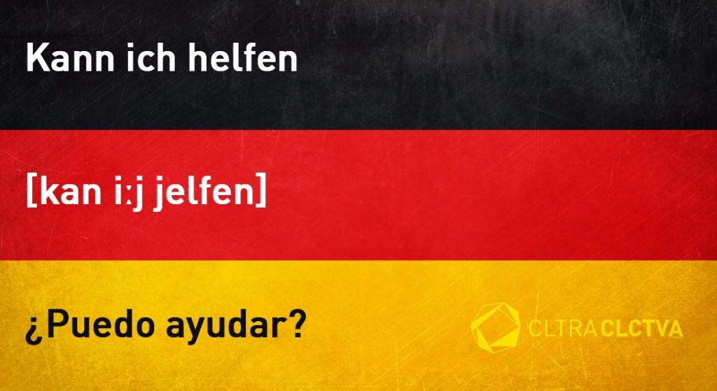 aprender aleman puedoayudar