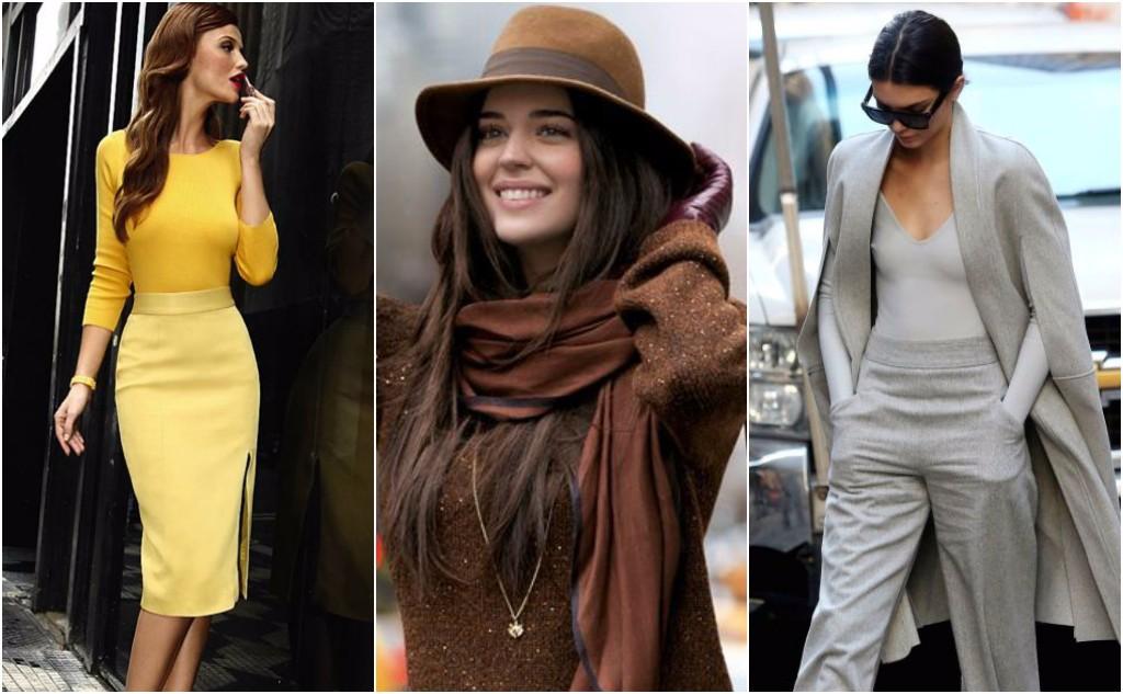 reglas de moda monocromático