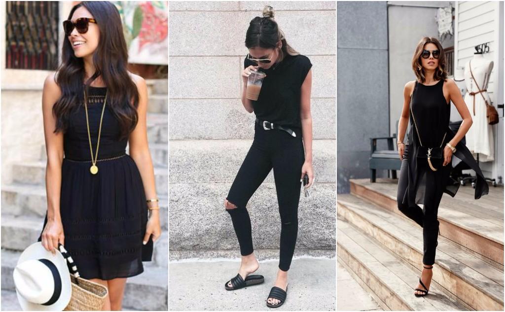 reglas de moda negro