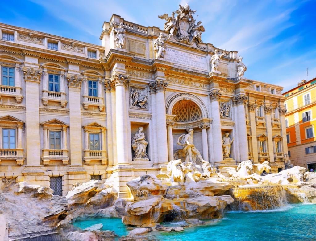 Ciudad favorita roma fuente