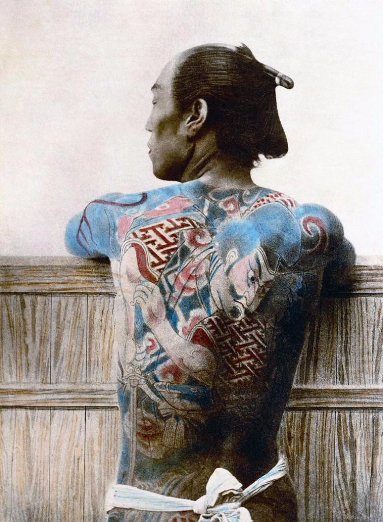 Tatuaje samurái   guerreros samurái