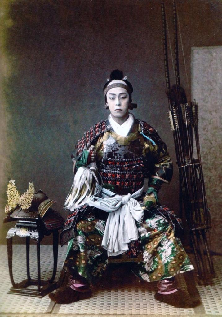 Samurái en casai  guerreros samurái