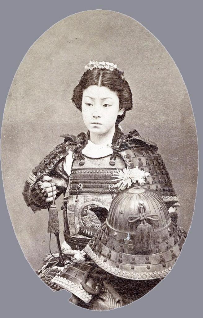 guerrera   guerreros samurái