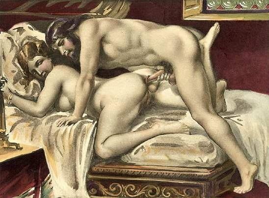 sexo anal imagen antigua