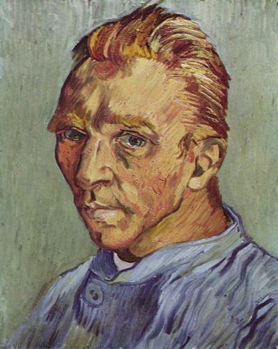 Autorretrato sin barba | famosos pintores