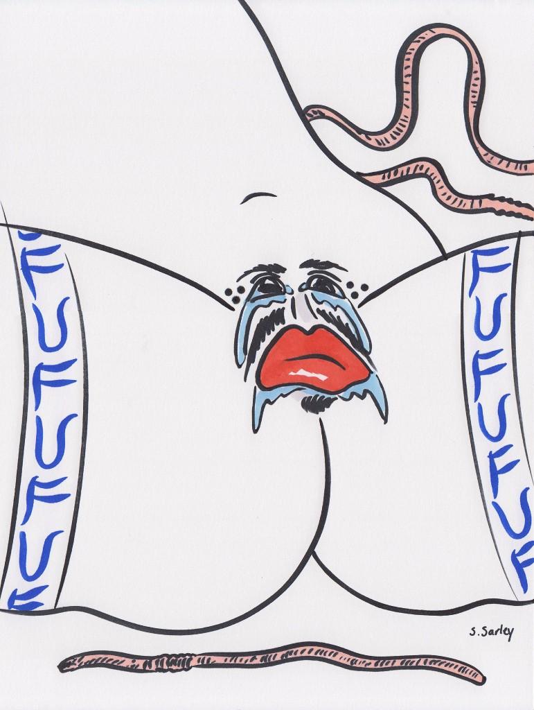 sephanie sarley vagina azul
