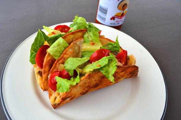 Tacos veganos - papa
