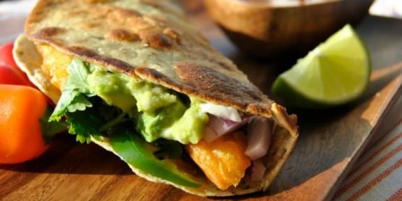 Tacos veganos - pescado